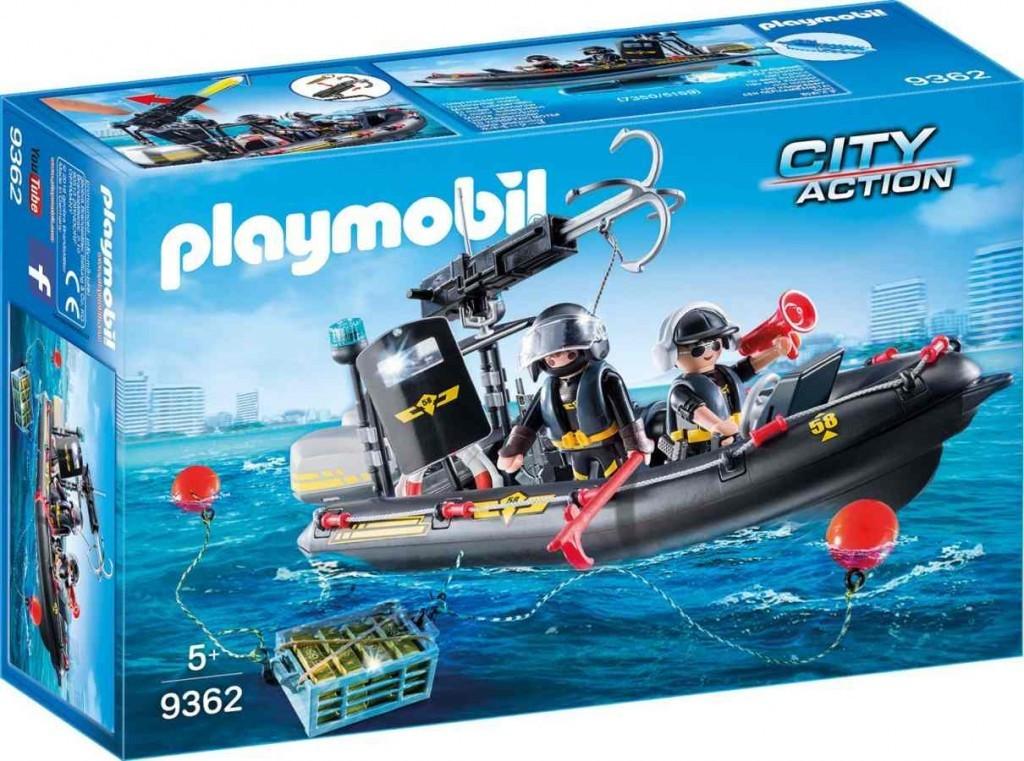 Playmobil Playmobil 9362 Člun speciální jednotky