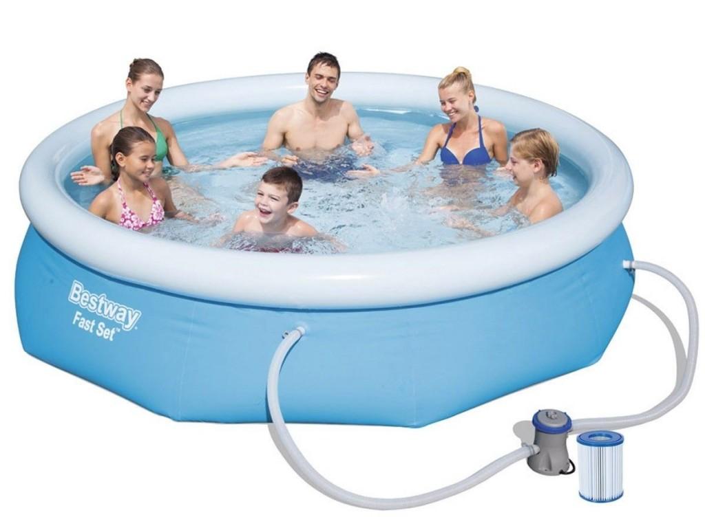 Bazén Bestway Fast Set 3,05 x 0,76 m s kartušovou filtrací