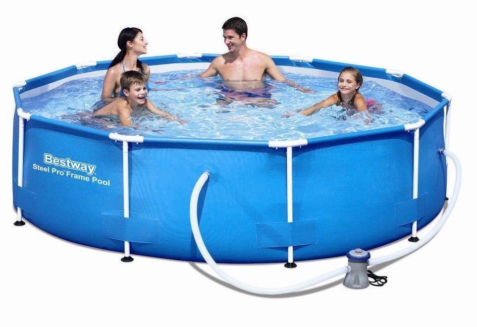 Bazén Bestway Steel Pro 3,05 x 0,76 m s kartušovou filtrací