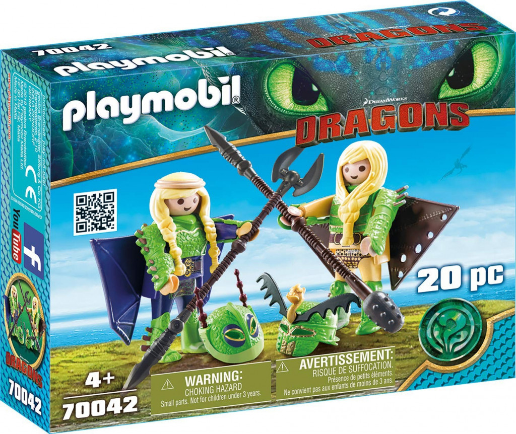 Levně Playmobil Playmobil 70042 Rafana a Ťafan v létajícím plášti