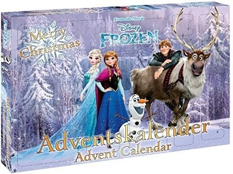 Adventní kalendář Frozen Ledové království Craze 2016