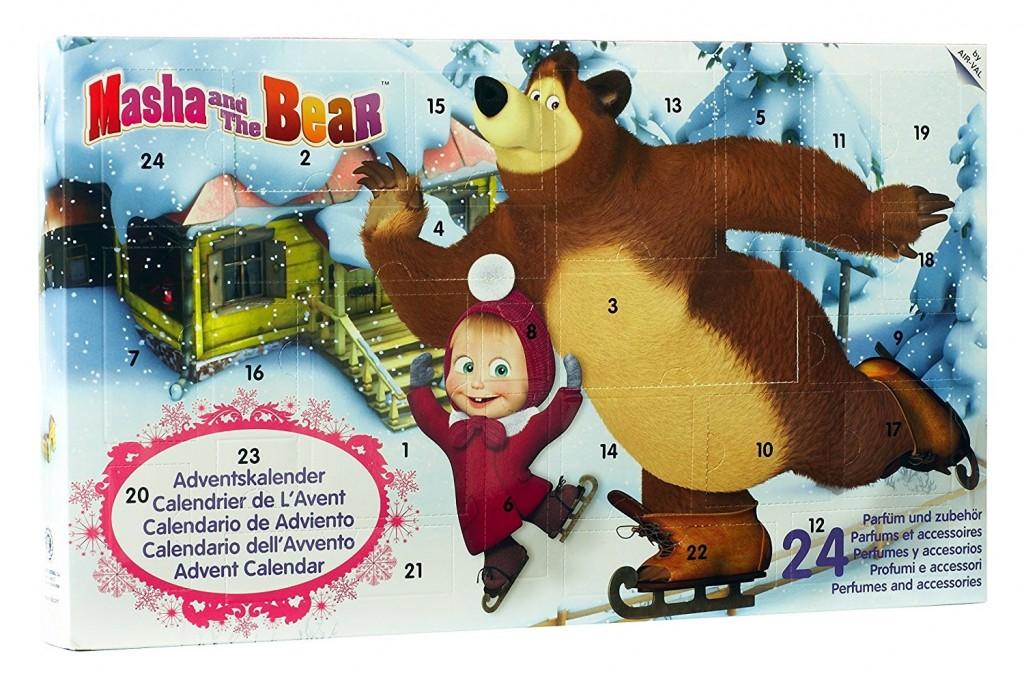 Adventní kalendář Máša a medvěd