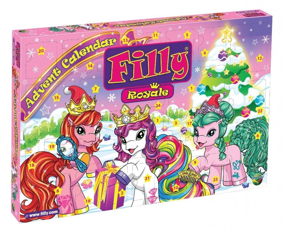 Adventní kalendář Filly Royale