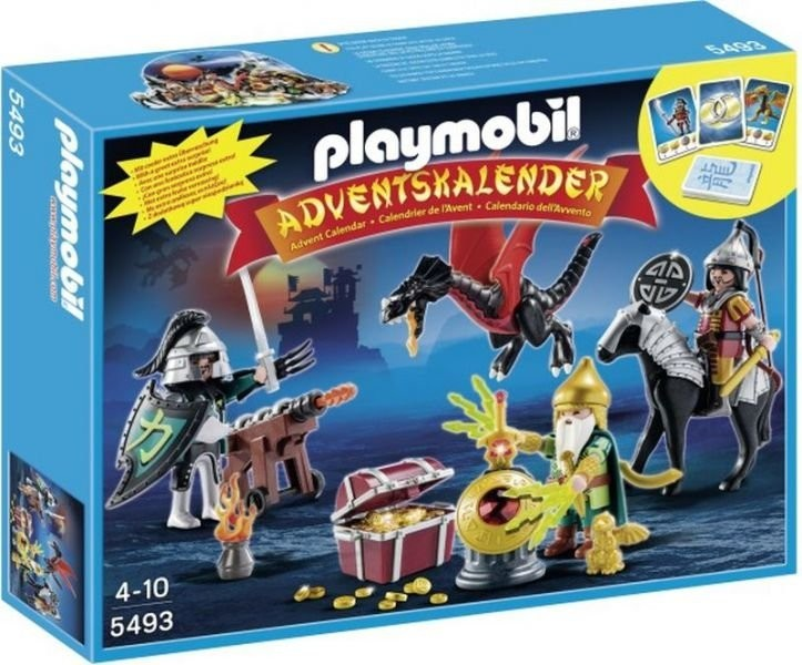 Adventní kalendář Playmobil 5493 Boj o dračí poklad