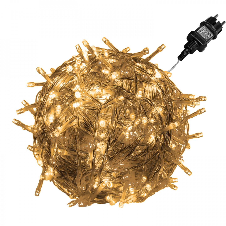 Goleto Vánoční LED osvětlení 60 m | teplá bílá 600 LED