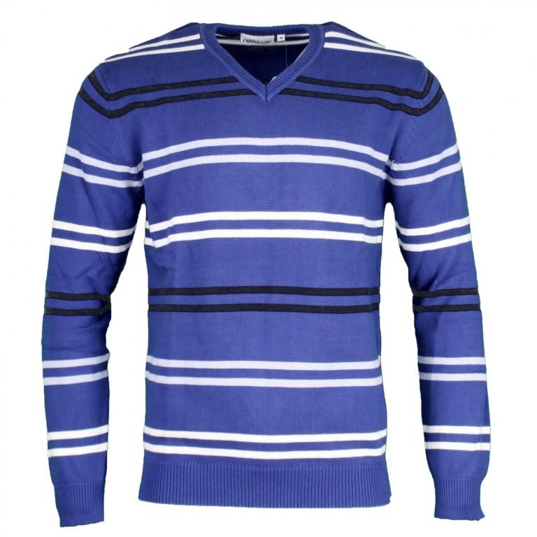 Pánský svetr Nebulus modrý S