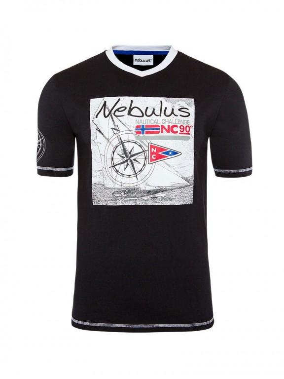 Pánské tričko Nebulus černé XL