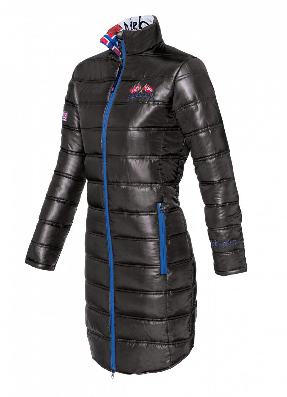 Dámský zimní kabát Nebulus černý S/36