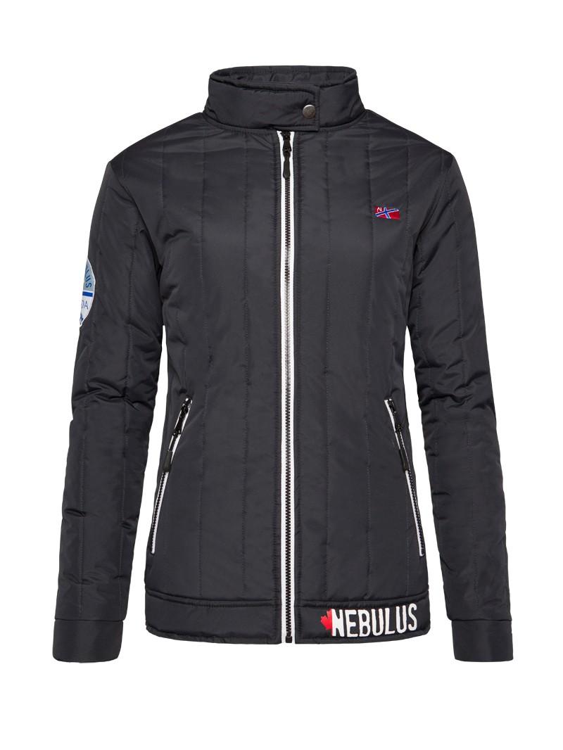 Dámská zimní bunda Nebulus černá S/36