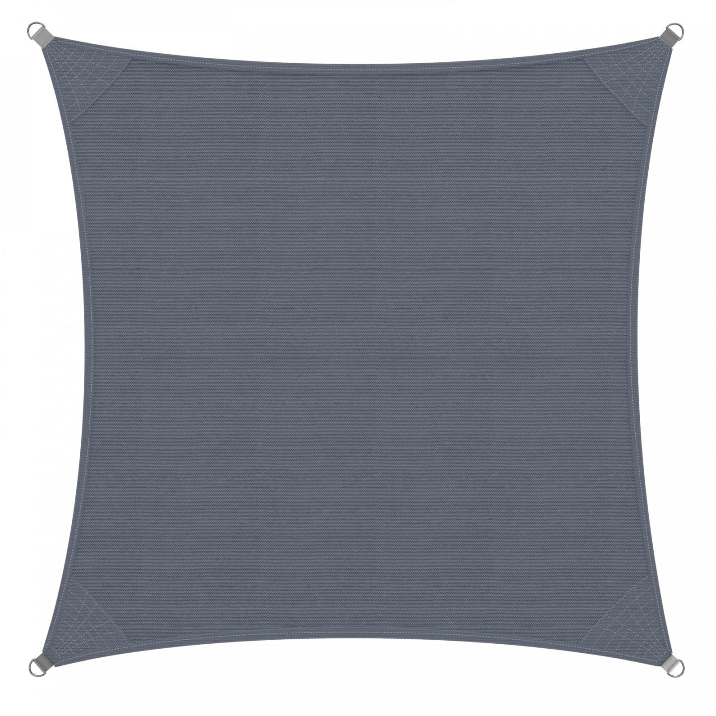 Goleto Stínící plachta proti slunci 3 x 3 m HDPE | šedá