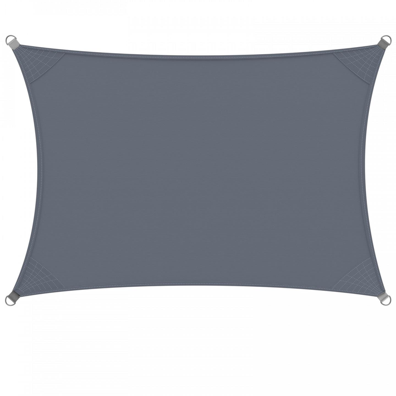 Goleto Stínící plachta proti slunci 3 x 4 m polyester | šedá