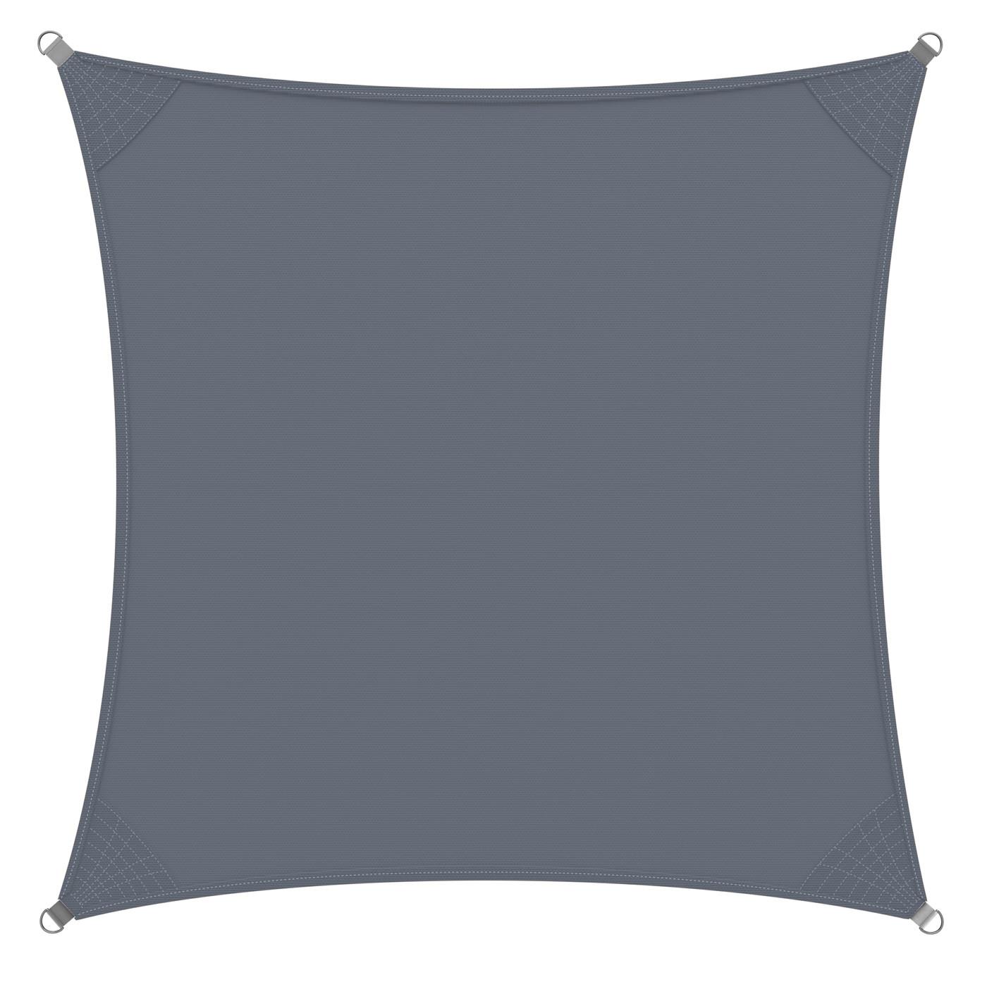Goleto Stínící plachta proti slunci 3 x 3 m polyester | šedá