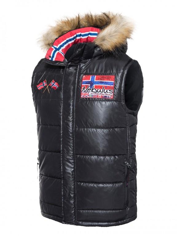Pánská zimní vesta Nebulus černá XXL