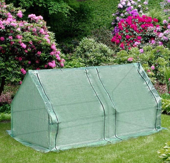 Goleto Zahradní foliovník 180 x 90 x 90 cm | zelený
