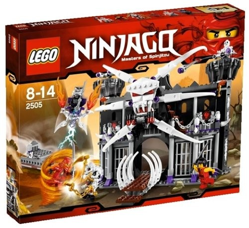 Lego LEGO Ninjago 2505 Garmadonova temná pevnost