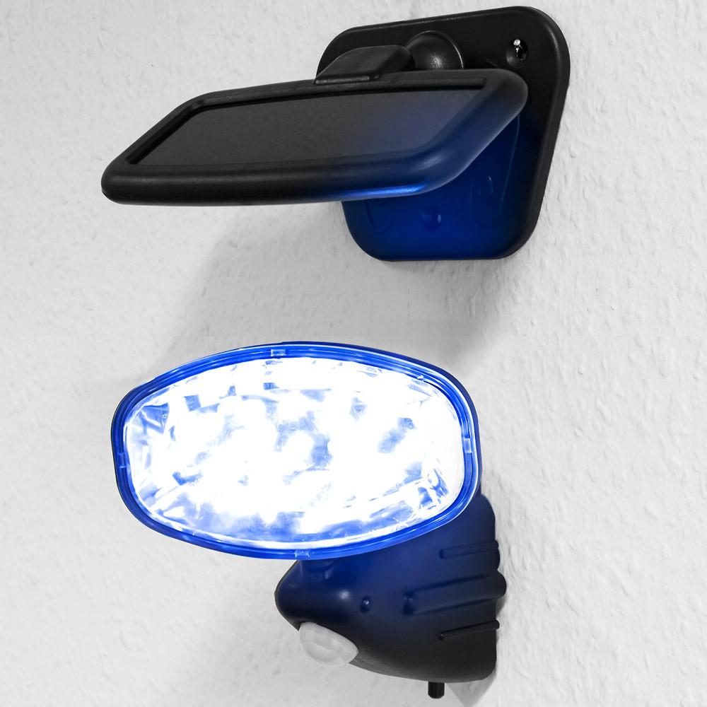 Goleto Nástěnné venkovní LED osvětlení s detektorem pohybu   15 LED