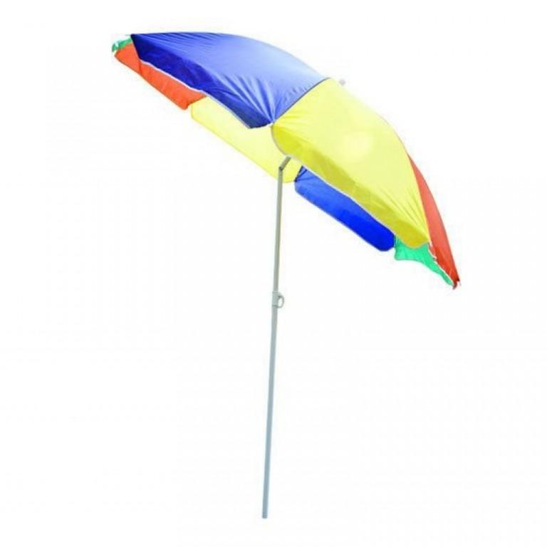 Plážový slunečník 160 cm | barevný