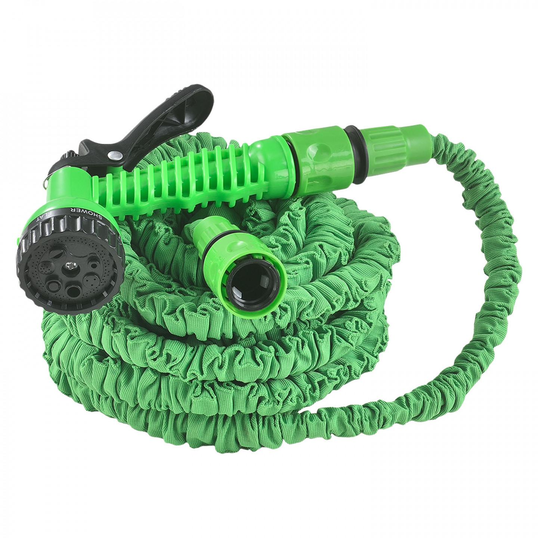 Goleto Zahradní smršťovací hadice 15 m   zelená