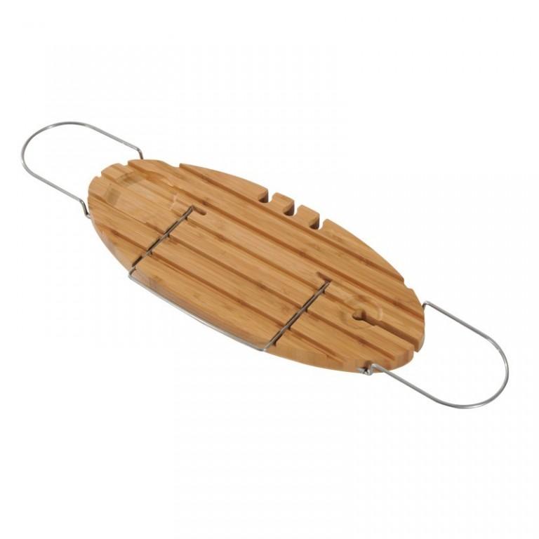 Bambusový podnos na vanu 71-98,5 cm