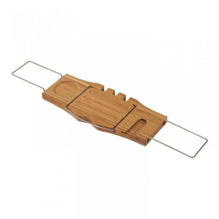 Bambusový podnos na vanu 79,5-105 cm
