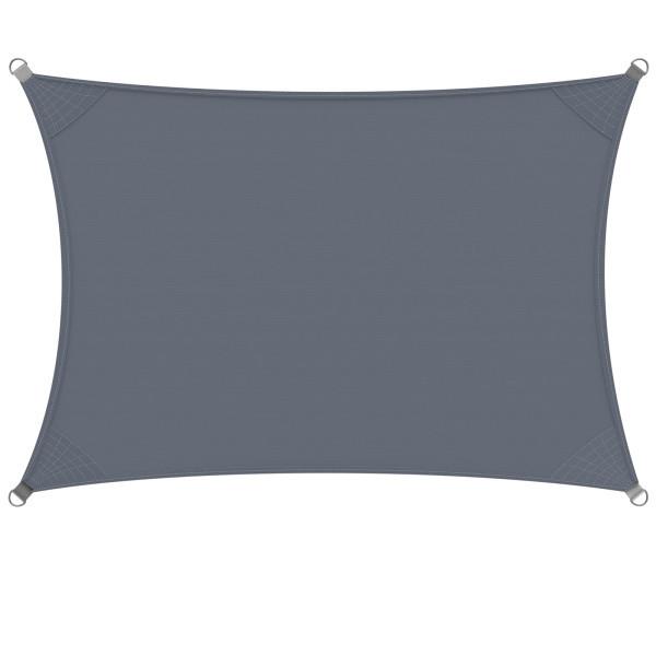 Goleto Stínící plachta proti slunci 2 x 4 m polyester | černo-šedá