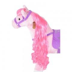 Jezdící kůň se zvuky, růžový č.3