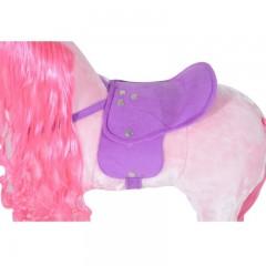 Jezdící kůň se zvuky, růžový č.4