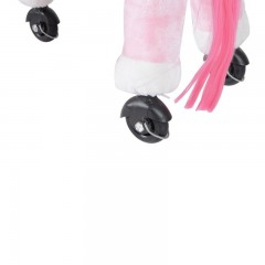 Jezdící kůň se zvuky, růžový č.5