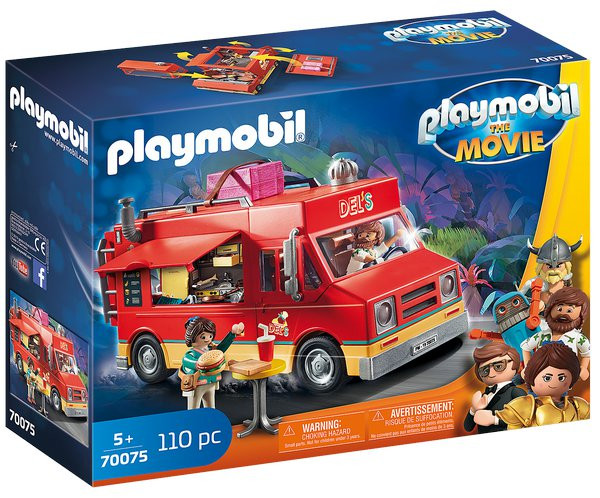 Levně Playmobil Playmobil 70075 Delův Food Truck