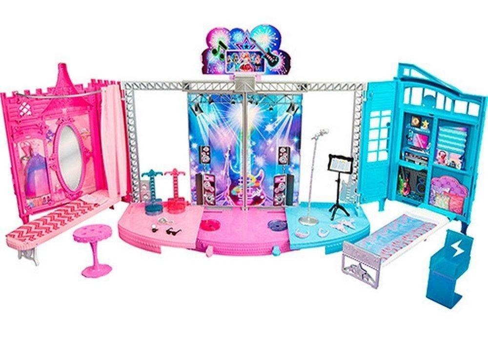 Mattel Barbie Rock´n Royals 2v1 Podium a zákulisí