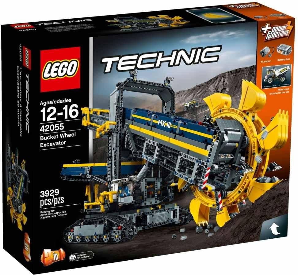 Lego LEGO Technic 42055 Těžební rypadlo