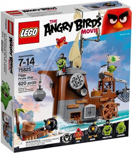 Lego LEGO Angry Birds 75825 Piggyho pirátská loď