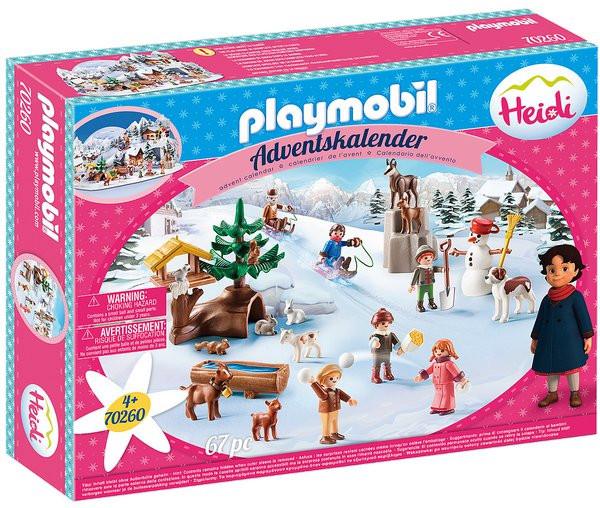 """Playmobil Playmobil 70260 Adventní kalendář """"Heidin zimní svět"""""""