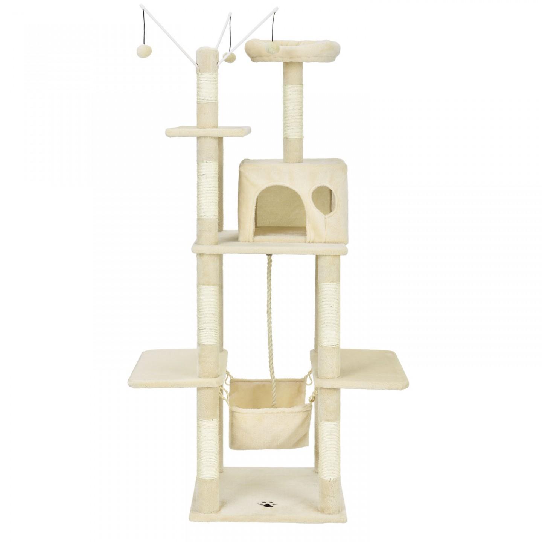 Goleto Škrabadlo pro kočky 150x50x50 cm | béžové
