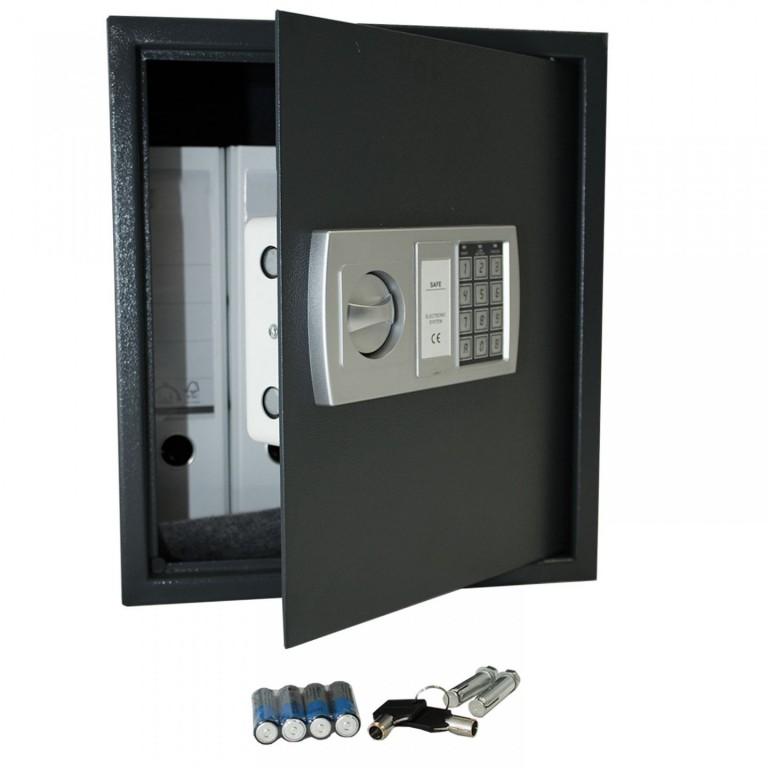 Trezor s elektronickým zámkem 40 x 35 x 40 cm | tmavě šedý