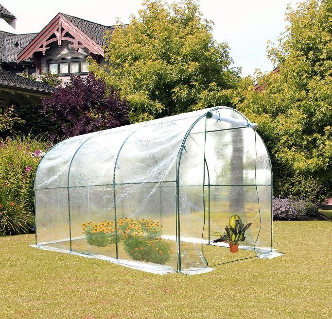 Goleto Zahradní fóliovník 350 x 200 x 200 cm | transparentní