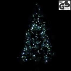 Vánoční LED osvětlení 20 m | studená bílá 200 LED č.3