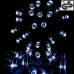 Vánoční LED osvětlení 20 m | studená bílá 200 LED č.4
