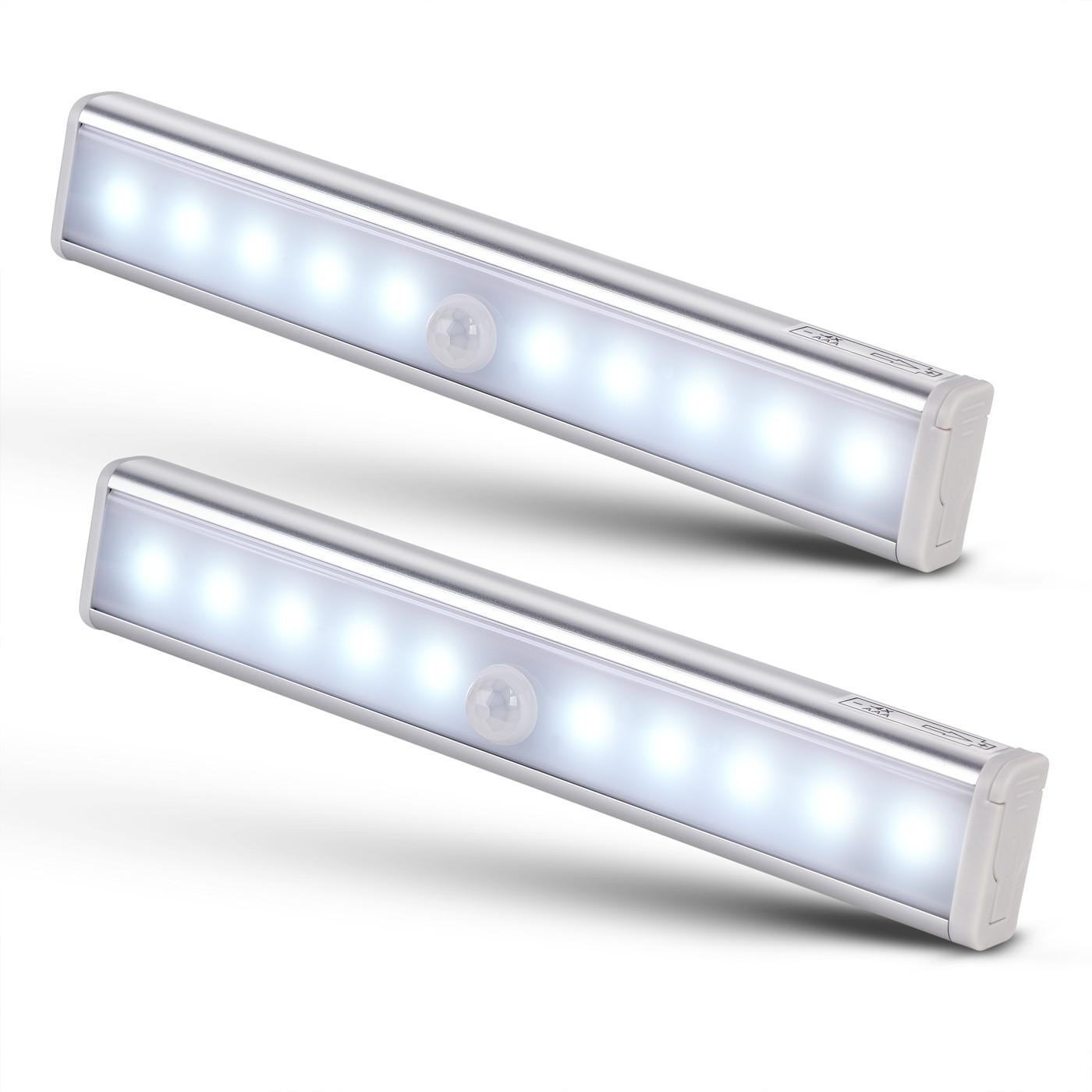 Goleto Lineární LED osvětlení s detektorem pohybu   2 kusy