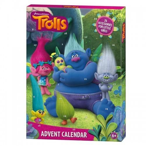 Adventní kalendář Trollové Dreamworks