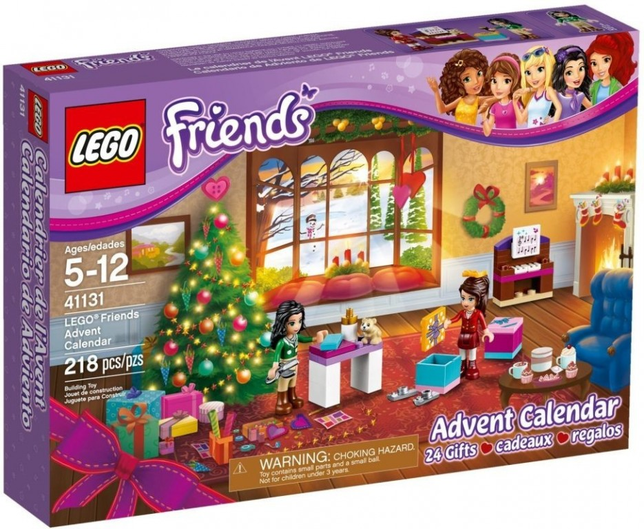 Adventní kalendář Lego 41131 Friends