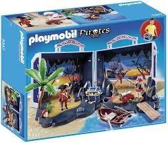 Playmobil 5347 Přenosná pirátská truhla