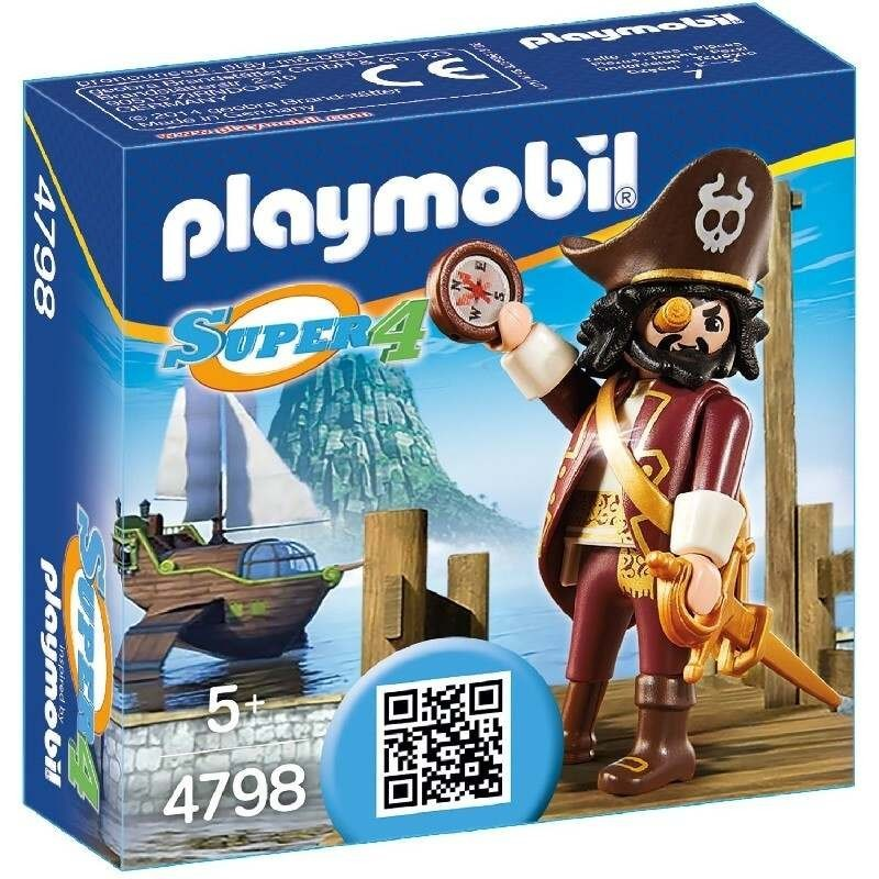 Playmobil Playmobil 4798 Sharkbeard Playmobil