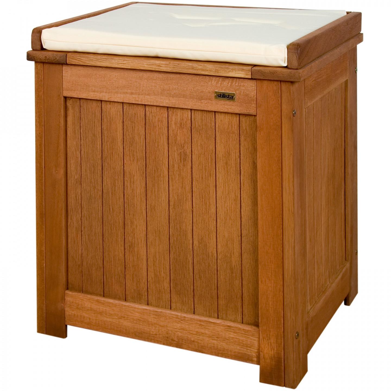 Goleto Zahradní dřevěný box Stilista | hnědý