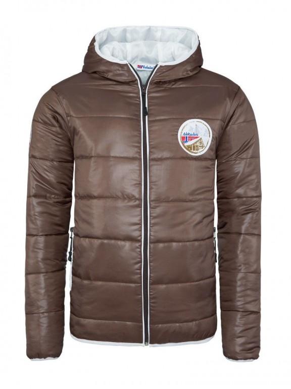 Pánská zimní bunda Nebulus hnědá XL