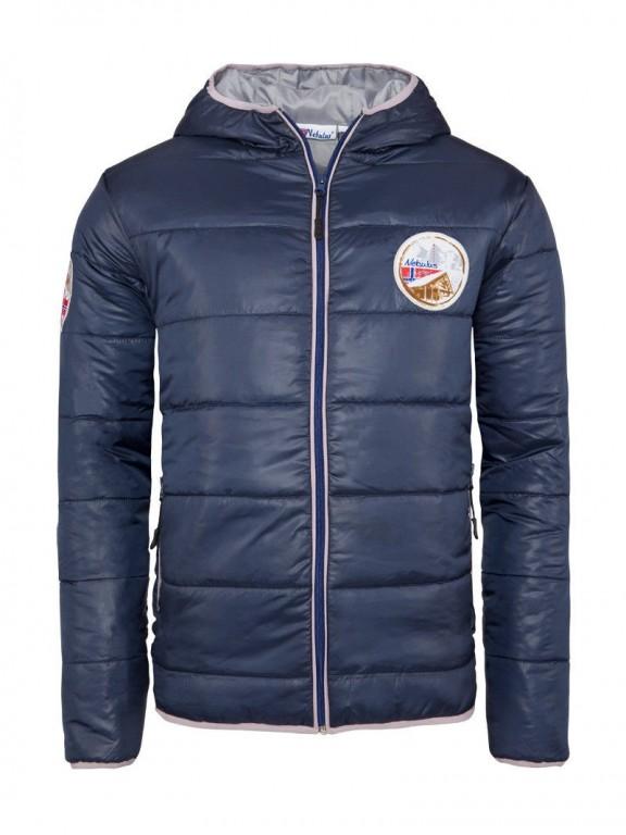 Pánská zimní bunda Nebulus modrá L