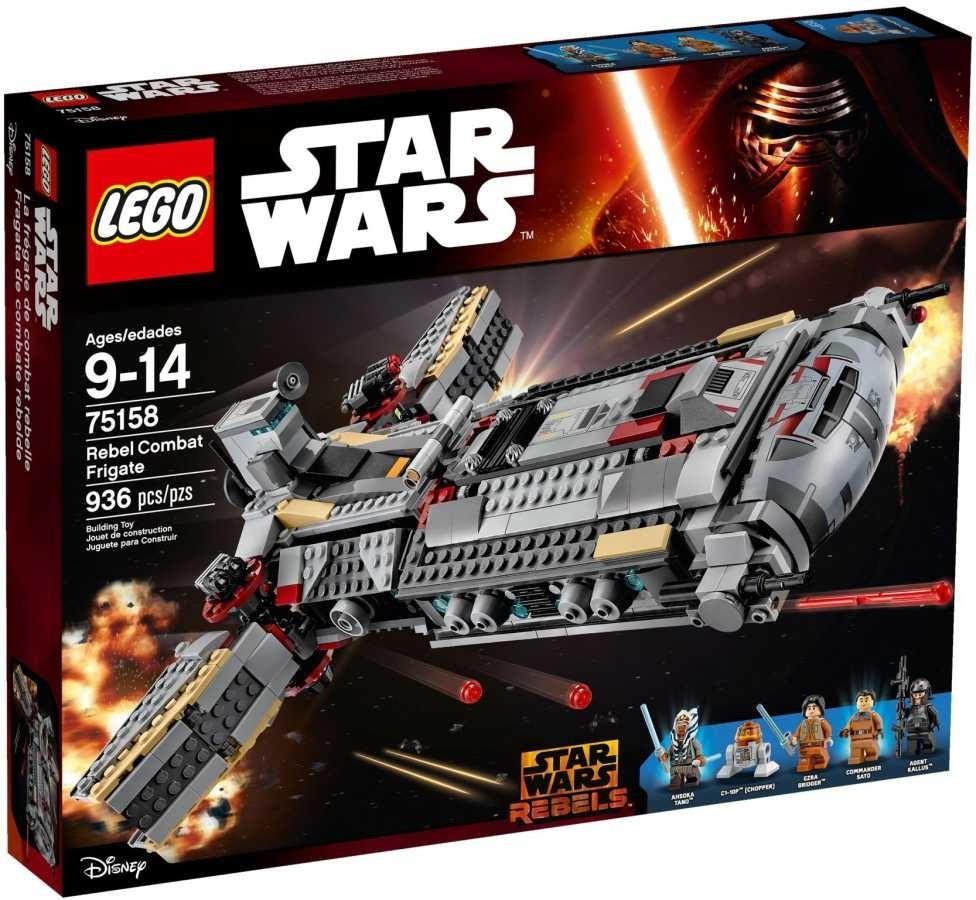 Lego LEGO Star Wars 75158 Bojová loď Povstalců