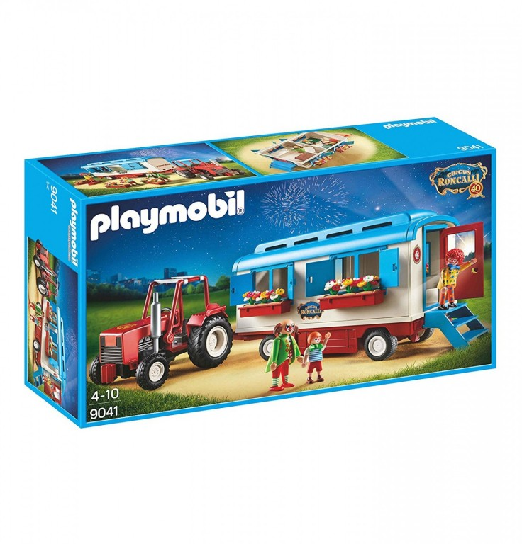 Playmobil 9041 Traktor s maringotkou
