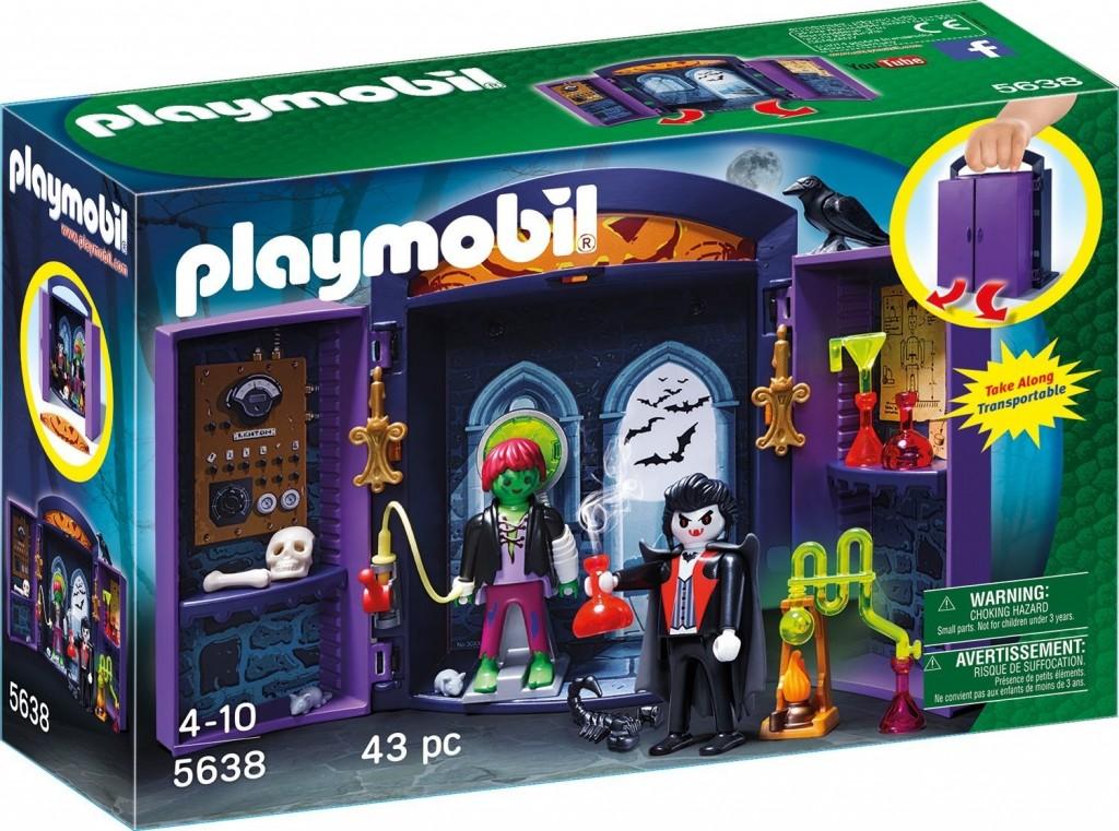 Playmobil 5638 Přenosný kufřík Strašidelný dům