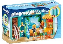 Playmobil 5641 Přenosný kufřík Plážový obchod